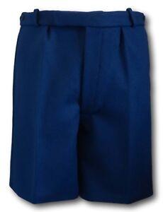836278a9 Navy Blue Wool Flannel School Boy Scout Uniform Short Trousers ...