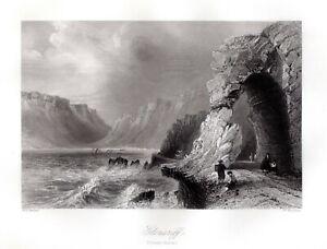 GLENARIFF-Waterfoot-CO-ANTRIM-IRELAND-Antique-FREEPOST