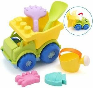 Beach-Sand-Toys-Dump-Truck-Toy-for-Kids-Toddler-Baby-New-Year-039-s-Day-Gift-9-Inch