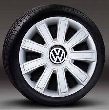 "Set of 4 ( 16"") wheel trims, Hub Caps to fit Vw Transp.T5,Beetle,Golf"