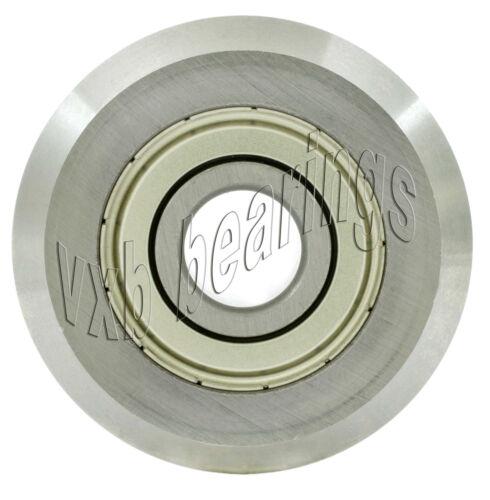 """RM1ZZ 3//16/"""" V Groove Guide Bearing Shielded Ball Bearings"""