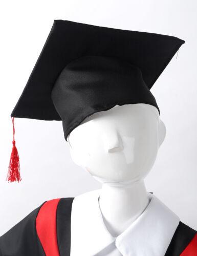 Children Graduation Robe Gown Boys Girls Coat Tassel Cap School Cosplay Costumes
