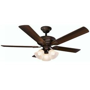 Campbell 52 in. Mediterranean Bronze Ceiling Fan Replacement Parts