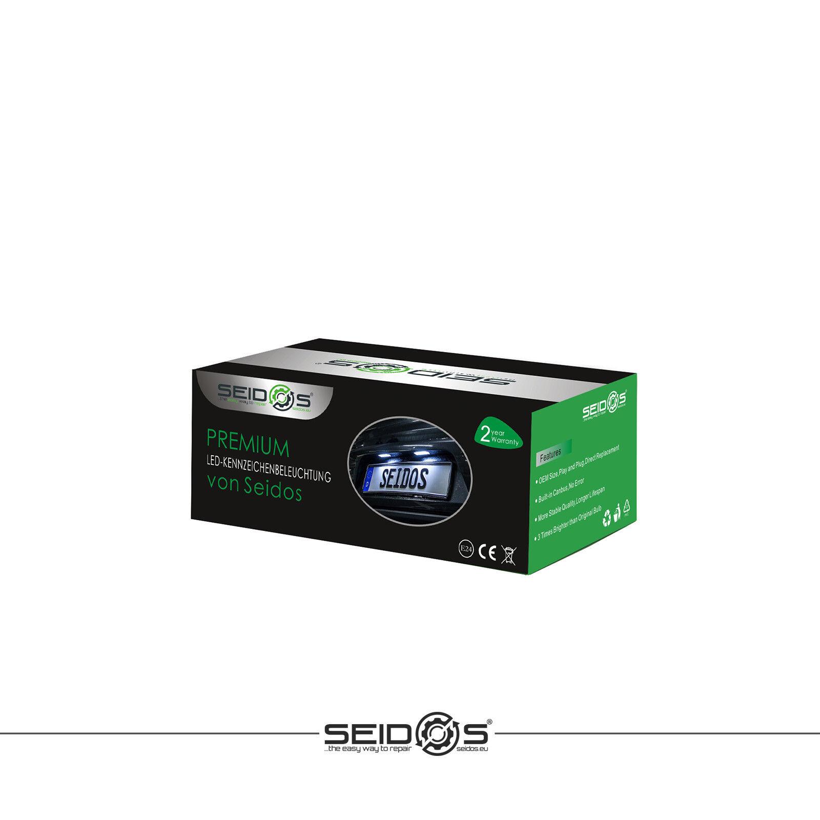 18 SMD LED Kennzeichenbeleuchtung Kennzeichenleuchten BMW E66 E-Prüfzeichen