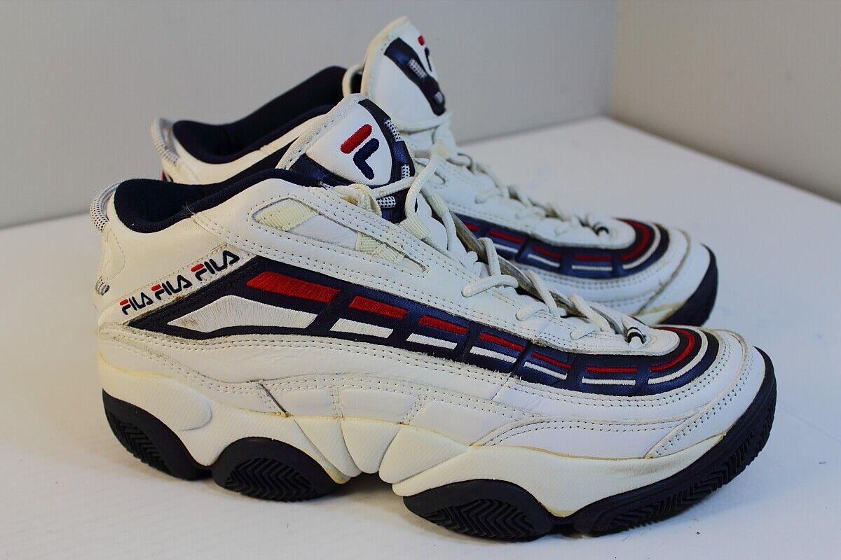 diseñador en linea Fila 1997 1997 1997 Vintage Zapatos De Baloncesto Hombre  100% precio garantizado