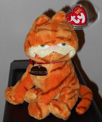 Ty Beanie Baby ~ GARFIELD the Cat MWMT 6.5 Inch Garfield Movie Beanie