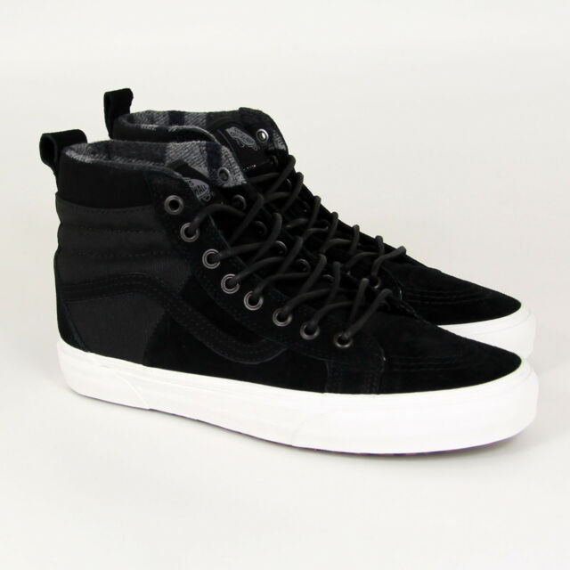 61acbe276e VANS Sk8-hi 46 MTE DX Shoes Black Winter Men s SNEAKERS Leather ...