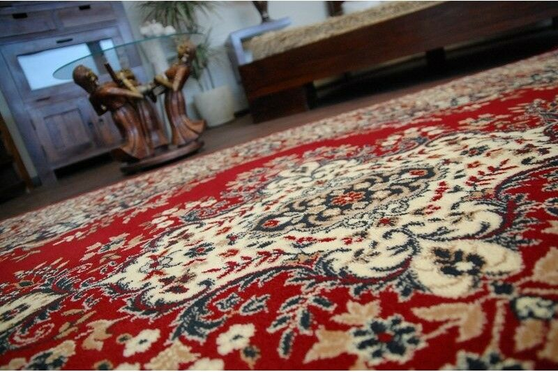 Traditional Agnella Rugs Rugs Rugs Claret oriental