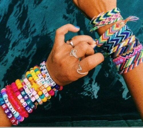 15pc VSCO Girl Mini Bundle Brandy Melville Scrunchie Stickers Bracelets Rings