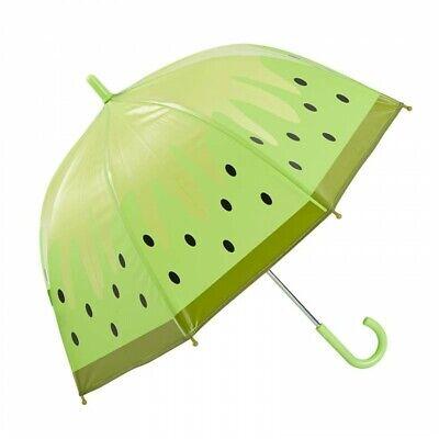 Kiwi Design Per Bambini Ombrello A Cupola Ombrello Ragazze Verde Nuovo-mostra Il Titolo Originale