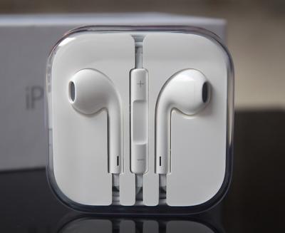 buy online 9d2eb 536e0 Original Genuine Apple EarPods Earphones IPhone 6 6S/5S Remote & Mic  MD827LL/A   eBay