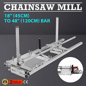 Chainsaw-Mill-Suits-up-to-a-48-034-120cm-Bar-Wood-Cutting-Log-Commercial-DIY
