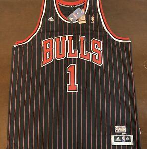 brand new 3e29d 82992 Details about Rare Adidas HWC NBA Chicago Bulls Derrick Rose Basketball  Jersey
