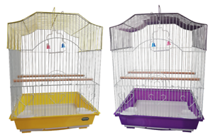 HERITAGE-CAGES-LULWORTH-SMALL-BIRD-CAGE-36x29x46CM-FINCH-BUDGIE-CANARY-PET-HOME