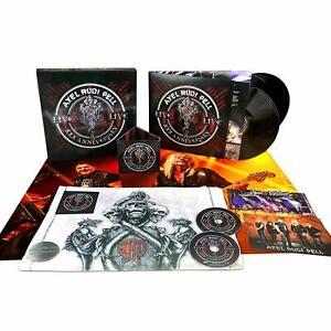 Axel Rudi Pell XXX Anniversary Live Vinyl 3LP+2CD Box Set buckle towel + more .
