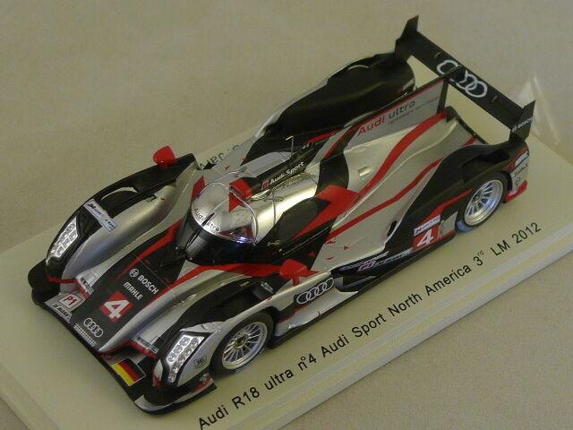 Spark S3703 - AUDI R18 Ultra Team Joest n°4 3ème 3ème 3ème Le Mans 2012 1 43 6c4471