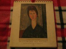 Flechsig-Kunstkalender 1958 / Meisterwerke Der Malarei - W. Flechsig Verlag