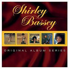 Shirley Bassey-ORIGINAL ALBUM SERIES 5 CD NUOVO