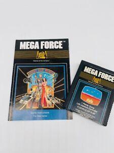 MEGA FORCE - Atari 2600 Game Cartridge With Manual