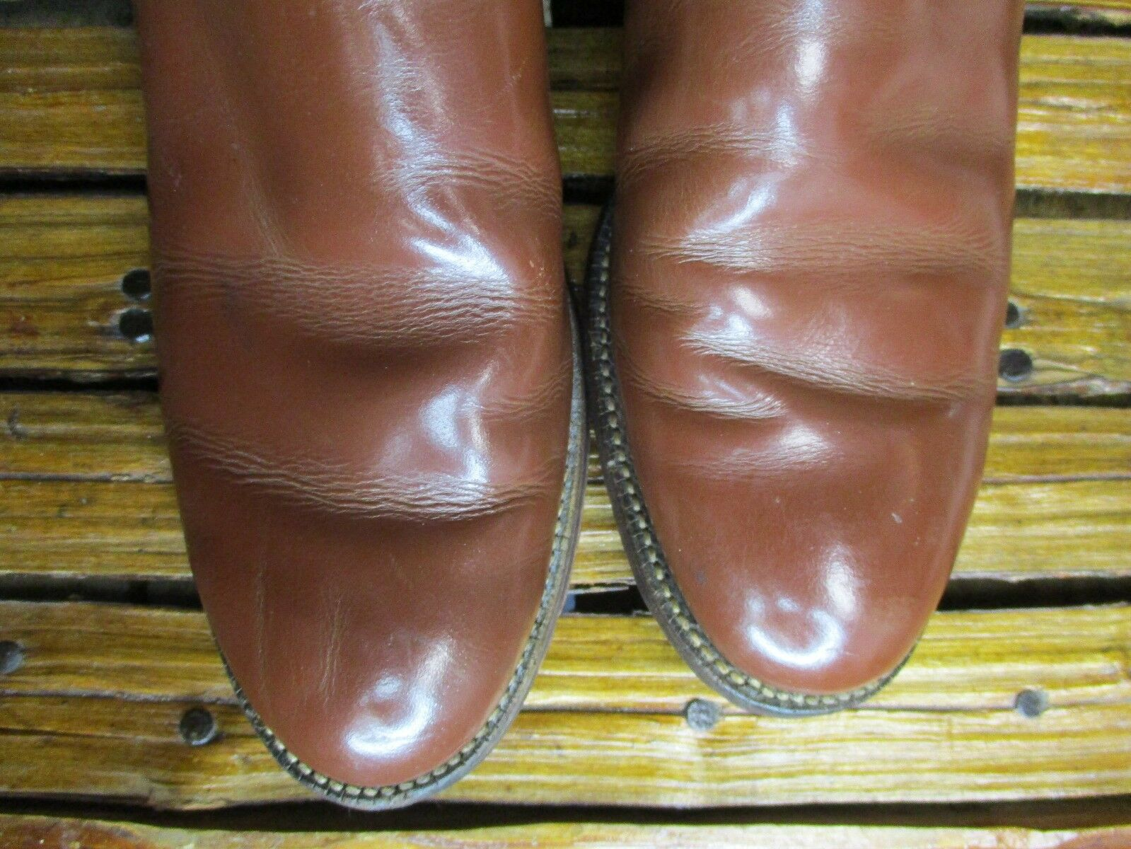 Señoras Marrón Talla: Cuero Vaquero Occidental Roper Justin Botas Talla: Marrón 7 B fb54ab
