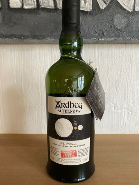 Spiritus, Ardbeg supernovaSN 2015 COMMITTEE RELEASE, Single…