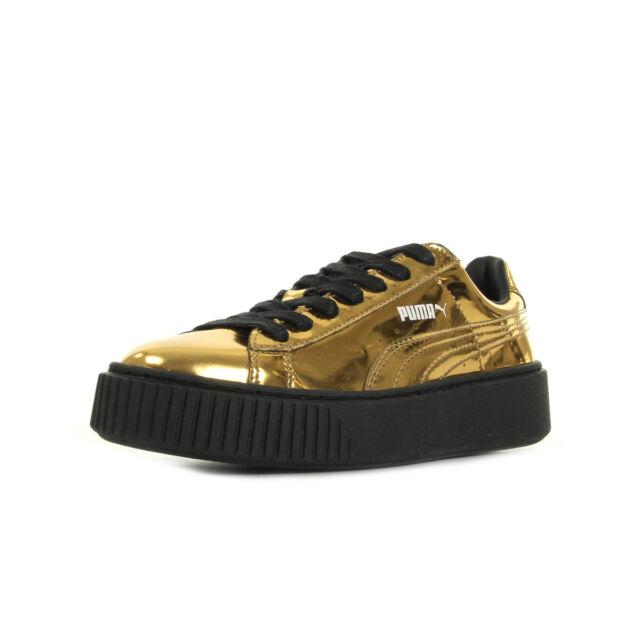 Baskets Puma Basket Platform Gold 36233904 38