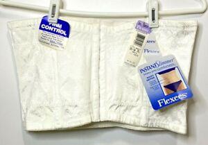 NOS-Flexees-Corset-Waist-Tummy-Firm-Control-Instant-Slimmer-White-Size-2X