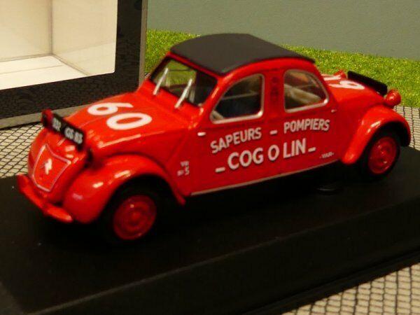 1 43 NOREV CITROEN 2cv Cogolin 1961 pompier 150091