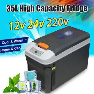 35L-Portable-Freezer-Heater-Camping-Car-Boating-Caravan-Bar-Fridges-12-24-220V