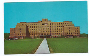 Details about Beckley WV Veterans Administrian Hospital 200 bed dedicated  1950 post card