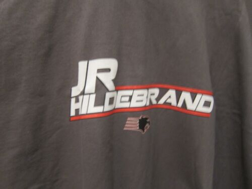 NEW MENS  J R HILDEBRAND GILDEN PEWTER SHIRT PANTHER RACING INDY 500 #4  XLARGE