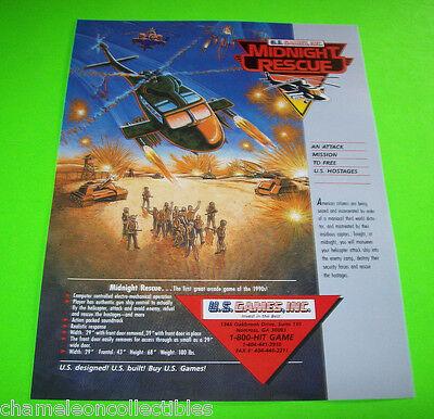 Afterburner Climax Arcade FLYER Original 2006 NOS Video Game Artwork Foldout