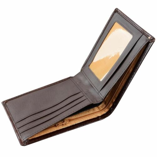 Men Short Wallet Synthetic Leather Bussiness Mens Male Card Wallets Black Brown