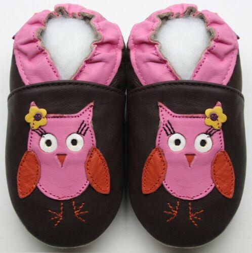 Krabbelpuschen Leder Schuhe Hausschuhe Lederpuschen Puschen Minishoezoo