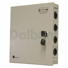 JC-120-12 9 O/P Wall Mount Power Supply 10 A 12 V 9 Port for CCTV Camera DVR