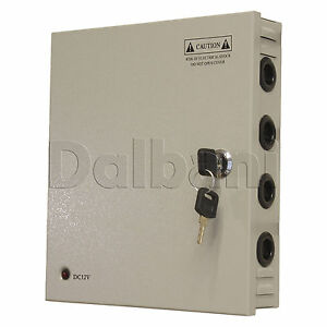 JC-120-12-9-O-P-Wall-Mount-Power-Supply-10-A-12-V-9-Port-for-CCTV-Camera-DVR