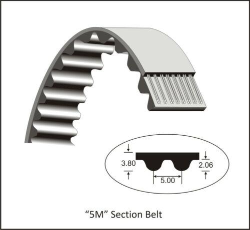 Zahnriemen HTD 385-5M-9 mm 25 mm Hochleistungsriemen