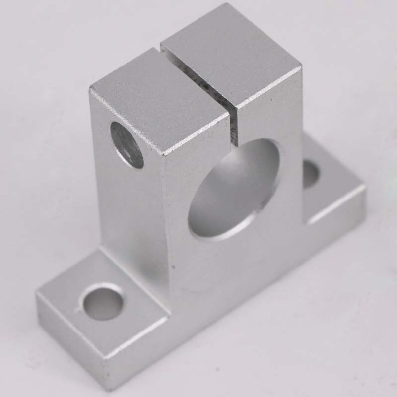 SK8//10//12//16//20//25 LINEAR RAIL BEARINGS SHAFT GUIDE SUPPORT BRACKET CLAMP SOLID