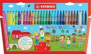 Feutre-De-Coloriage-30-Feutres-Pointe-Moyenne-Education-Enfant-Famille-Activite