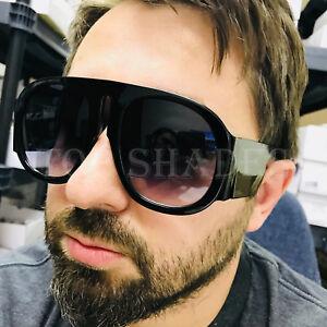 Round Thick Frame Aviator Large Fashion Designer Women Men NEW Style Sunglasses