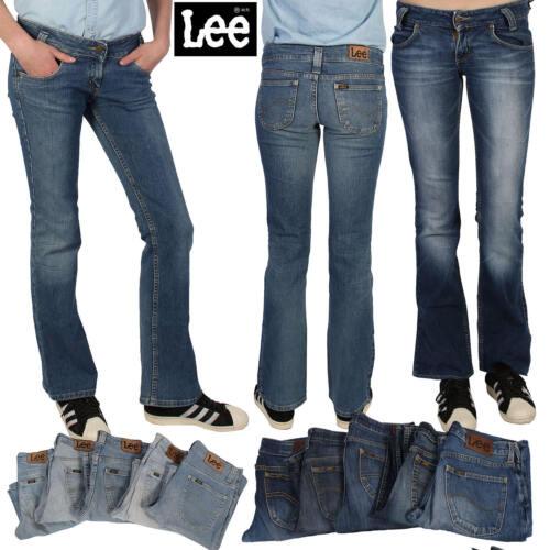 Vintage Lee Jeans Womens Retro 70s Wide Flare Denim Jeans
