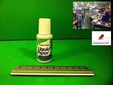 Stock di 30 Correttori PaperMate Liquid Paper 20 ml Liquido per Ufficio e Scuola