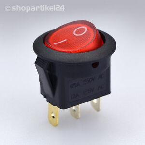 WIPPENSCHALTER-Einbauschalter-Schalter-250V-6-5A-rund-rot-WIPPSCHALTER-S2