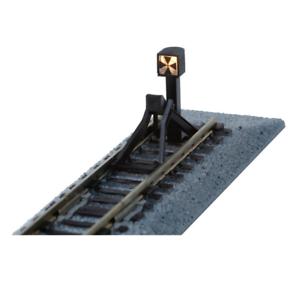 Kato-20-064-Straight-Track-Bumper-Type-C-66mm-Illuminated-Signal-Light-N