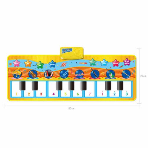Tanzmatten Haus Piano Mat Kinder Musikmatte Baby Klaviermatte Teppich Soft Learn