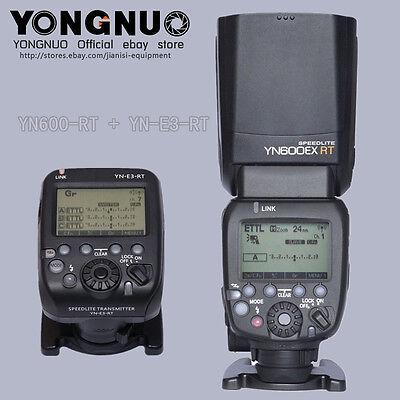 SALES! YONGNUO YN600EX-RT Flash speedlite + YN-E3-RT trigger for Canon