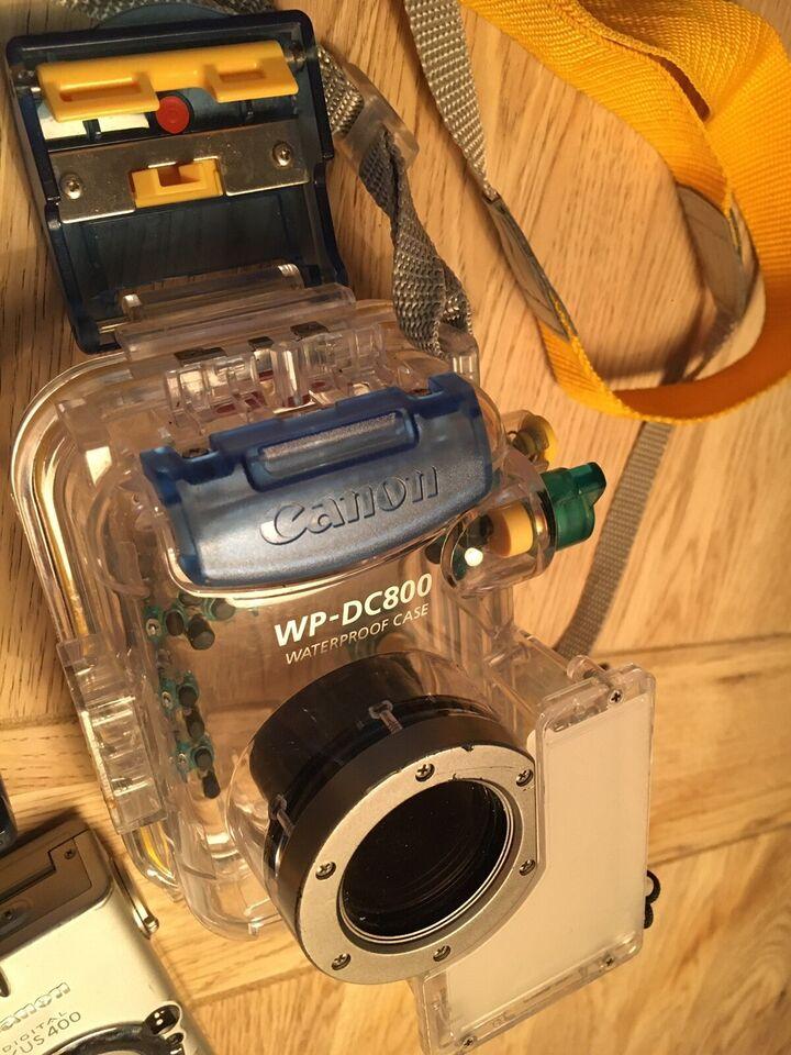 Undervandshus, Canon, Ixus 400