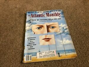 SEPT-1994-ATLANTIC-MONTHLY-vintage-magazine-PERSONALITY-at-BIRTH
