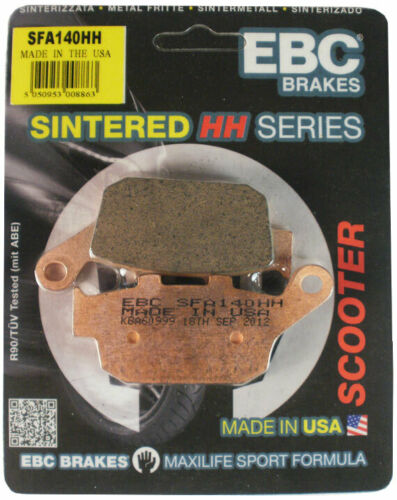 HH Scooter Front Brake Pads SFA324HH Kymco People 200 GT i 2015-2017 EBC SFA