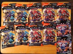 Lot of 6 Mega Construx Halo Warrior Series Blind Bags